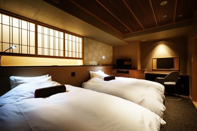 新客室ベッド