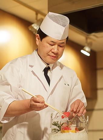 白玉の湯 泉慶 総料理長 木島 英明